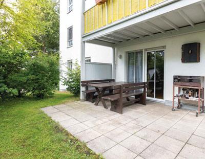 Oberschleißheim Schöne 3 Zi-Wohnung mit Süd-West Terrasse