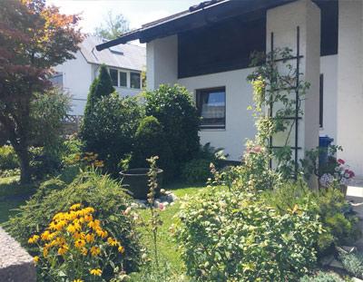 München Ramersdorf 3 Zimmer, Südbalkon in 2 Familienhaus (OG)