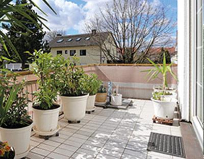 Aschheim Wunderschöne 3-Zimmerwohnung mit 2 Balkonen