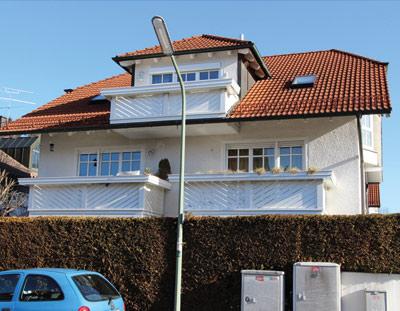 München Trudering Waldtrudering 2 Zi.-Wohnung, Südbalkon