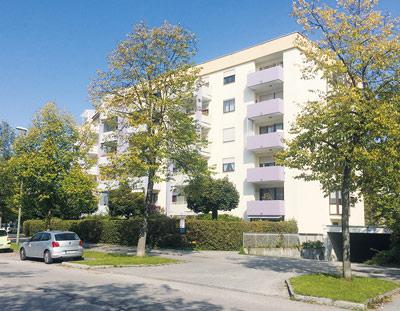 München Perlach 2 Zimmerwohnung mit tollem Grundriss und Hobbyraum